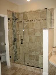 bathroom small tiled shower stalls shower enclosures powder room