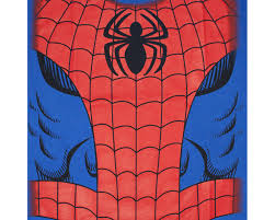 spiderman costume halloween blue graphic tshirt tvmoviedepot com