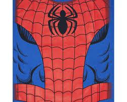 spiderman costume halloween blue graphic tshirt superheroden com