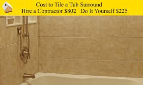 bathroom surround tile ideas cost to tile a tub surround youtube