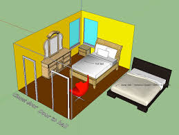 planning a room with google sketchup and a wide format plotter