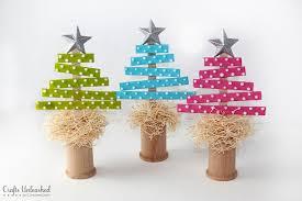tree craft made with wood craft sticks