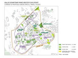 Map Of Downtown Dallas by Dallas Downtown Parks Master Plan U2013 Hargreaves Associates