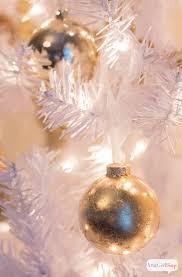 diy gold ornaments