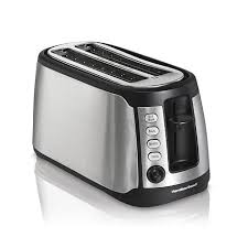Cleveland Browns Toaster Hamilton Beach Keep Warm 4 Slice Long Slot Toaster 8314108 Hsn