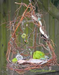 where the fairies live in the miniature garden the mini garden