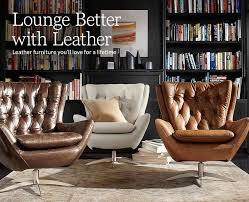What Design Style Is Pottery Barn Lounge Better With Leather Pottery Barn