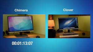 Chameleon Boot Flags Clover Vs Chimera Booting Up Time Youtube