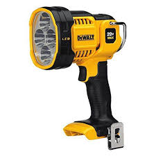 hand held spot light amazon dewalt dcl043 20v max jobsite led spotlight dewalt http www amazon