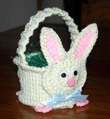 bunny easter basket crochet patterns crochet easter basket patterns crochet mr