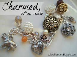 charm you bracelet images Cut craft create make your own charm bracelet using buttons jpg