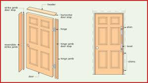 How To Install An Exterior Door Frame Homeofficedecoration Exterior Door Frame Replacement