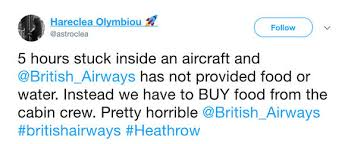 Hit The Floor Cancelled - snow storm in uk affects over 50 000 stranded british airways