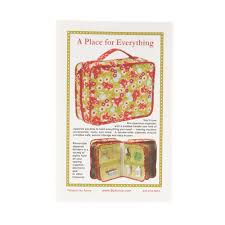 Home Design By Annie By Annie A Place For Everything Bag Pattern Discount Designer