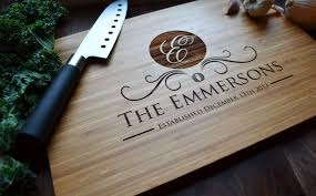 engraved cutting boards personalized cutting board laser engraved walnut 8x14 wood cutting