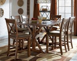 Glamorous Wrought Iron Dining Room Table And Chairs  In Dining - Dining room tables counter height