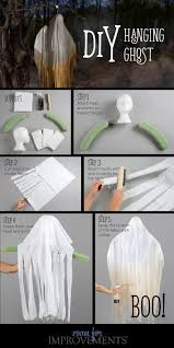 halloween craft diy hanging ghost halloween parties and