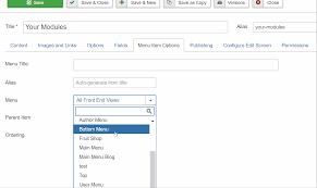 Joomla Hosting Title Joomla Issue Tracker Joomla Cms 11766 Improving Menu Item
