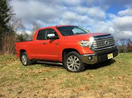 truck toyota tundra on the road review toyota tundra double cab limited the