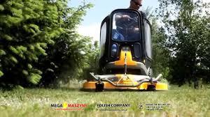 traktor ogrodowy stiga park pro 25 4wd youtube