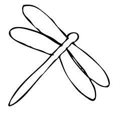 dragonfly coloring free download