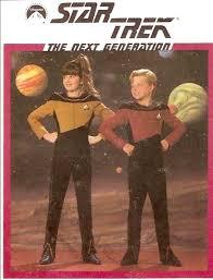 Sewing Patterns Halloween Costumes 80s Star Trek Kids Costume Sewing Pattern Trekkie Space
