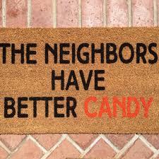doormat funny funny halloween doormats popsugar home