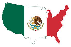 Us And Mexico Map I Am Mexican American And Proud Of It
