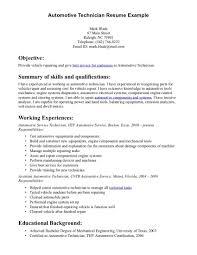 Heavy Duty Mechanic Resume Sample Top Automotive Technician Resume Sample Resume Template Info
