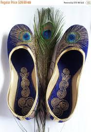 wedding shoes size 9 us size 9 blue shoe velvet shoe gold embroidered designer shoes blue