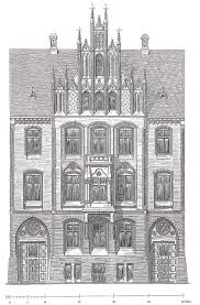 House Architecture Drawing File Architectural Drawing Johannes Otzen House Hansen Nordermarkt