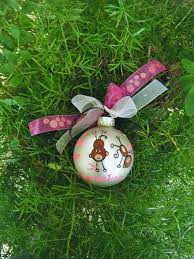 gymnastics ornament personalized for birthday or