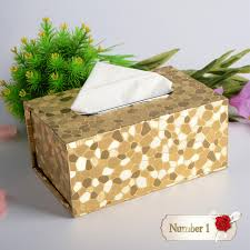 decorative tissue box 3d pattern household table adornment merry christmas decorative