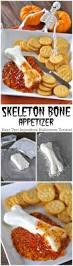 Halloween Party Appetizers For Adults by Skeleton Bone Easy Halloween Appetizer Cream Cheese Shaped Like