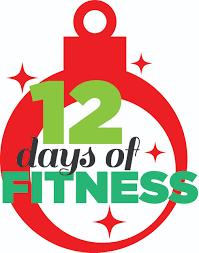 12 days of christmas fitness challengeadult fitnesssports