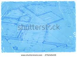 vector blueprint house plans sections stock vector 563953570
