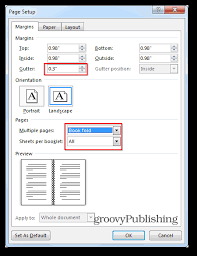 program booklets how to create booklets using microsoft word 2013