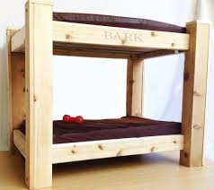 Doggie Bunk Beds Bark S Big Bunk Bed With Chest Step Up