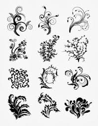 floral vectors ornaments floral vector graphic tattoos