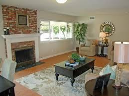living room design with red brick fireplace centerfieldbar com