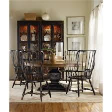 hooker furniture sanctuary spindle side chair ebony set of 2