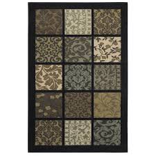 Damask Kitchen Rug Townhouse Rugs Gridiron Damask Multi 63 By 94 Inch Rug