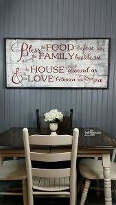 kitchen wall decorating ideas best 25 family signs ideas on barn board signs