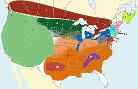 4 american cultures map american