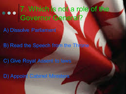 Role Of Cabinet Members Canadian Government Quiz 1 What Best Describes Canada U0027s