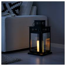 Outdoor Lights Ikea by Borrby Lantern For Block Candle Ikea
