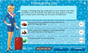 thanksgiving day celebration thanksgiving day event airport city wiki fandom powered by wikia