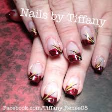 fall fingernails design how you can do it at home pictures