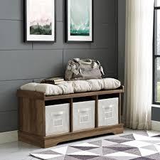 walker edison furniture company 42 in rustic oak wood storage
