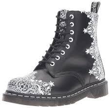 womens boots dr martens amazon com dr martens s pascal lace combat boot ankle